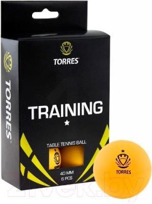 Мячи для настольного тенниса Torres Training TT0015 (оранжевый) - общий вид