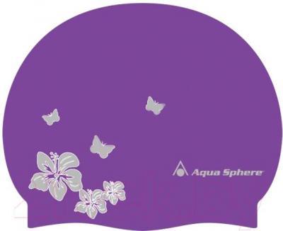 Шапочка для плавания Aqua Sphere Dahlia 20903V (фиолетовый) - общий вид