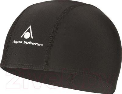 Шапочка для плавания Aqua Sphere Easy Cap 946056BK (черный) - общий вид