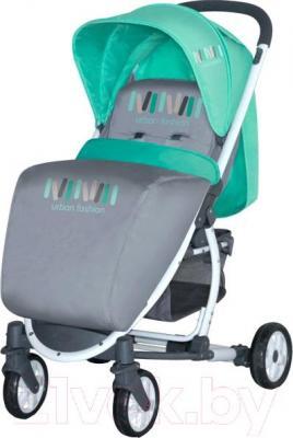 Детская прогулочная коляска Lorelli S300 (Gray-Green) - общий вид