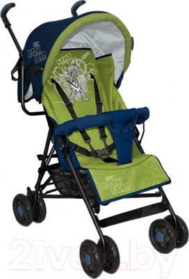 Детская прогулочная коляска Lorelli Star (Blue Green Rock Star) - общий вид