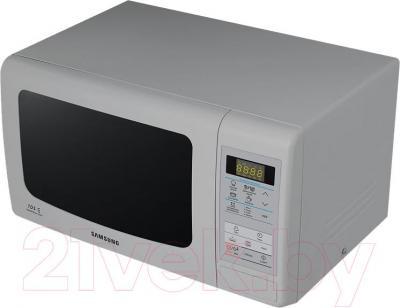 Микроволновая печь Samsung ME83KRS-3/BW - вид в проекции