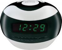 Радиочасы Mystery MCR-32 (белый с зеленым) -
