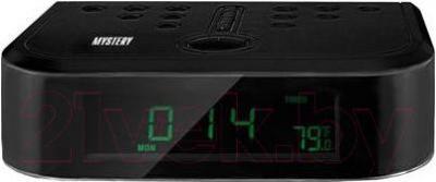 Радиочасы Mystery MCR-66 (черный) - общий вид