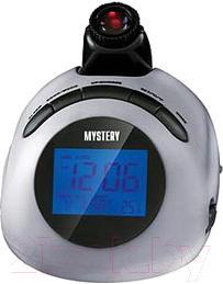 Радиочасы Mystery MCR-78 (серебро) - общий вид
