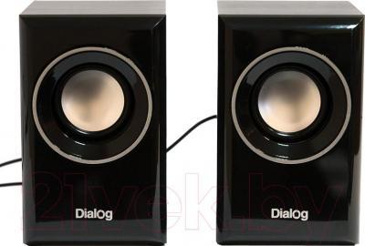 Мультимедиа акустика Dialog AST-15UP (черный) - общий вид