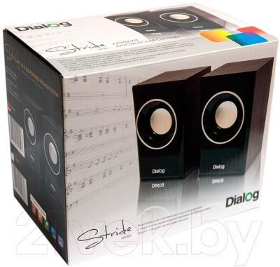 Мультимедиа акустика Dialog AST-15UP (черный)
