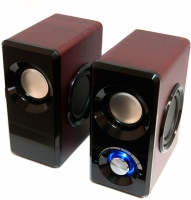 Мультимедиа акустика Dialog AST-25UP (вишня) -