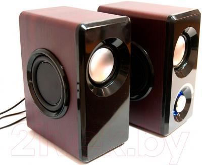 Мультимедиа акустика Dialog AST-25UP (вишня)