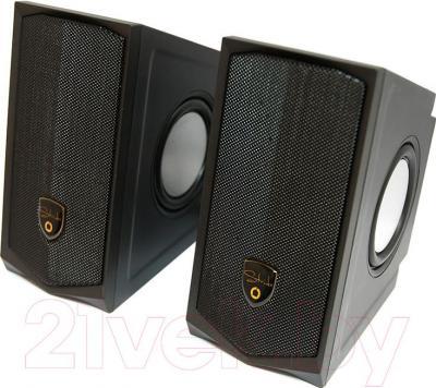 Мультимедиа акустика Dialog AST-30UP (черный) - общий вид