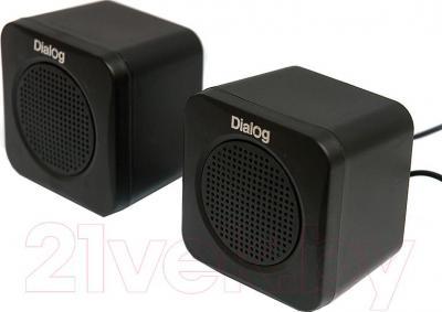 Мультимедиа акустика Dialog AC-01UP (черный) - общий вид