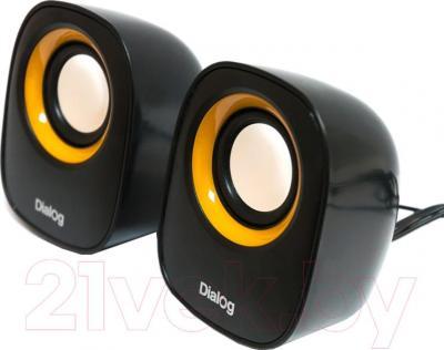 Мультимедиа акустика Dialog AC-06UP (черный) - общий вид