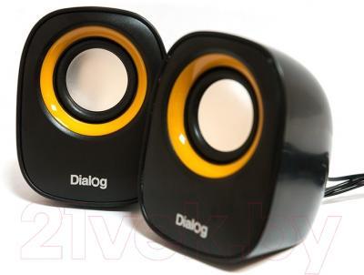 Мультимедиа акустика Dialog AC-06UP (черный)