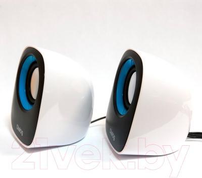 Мультимедиа акустика Dialog AC-06UP (черно-белый)