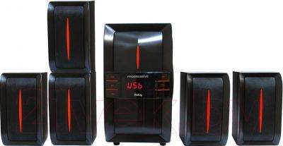 Мультимедиа акустика Dialog AP-540 (черный) - общий вид