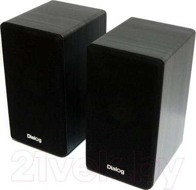 Мультимедиа акустика Dialog AST-20UP (черный) - общий вид