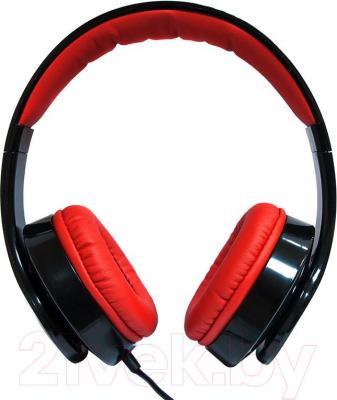Наушники-гарнитура Dialog HS-A21M (черно-красный)