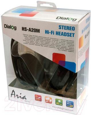 Наушники-гарнитура Dialog HS-A20M