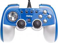 Геймпад Dialog GP-M22 (синий) -