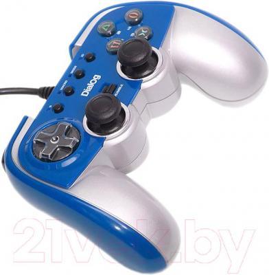 Геймпад Dialog GP-M22 (синий) - общий вид