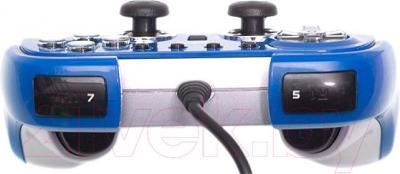 Геймпад Dialog GP-M22 (синий) - вид сбоку