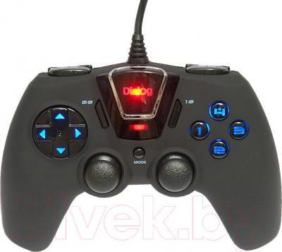 Геймпад Dialog GP-M24 (черный) - общий вид