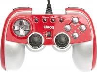 Геймпад Dialog GP-M22 (красный) -
