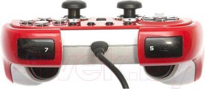 Геймпад Dialog GP-M22 (красный) - вид сбоку