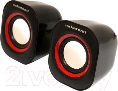 Мультимедиа акустика Nakatomi BC-05UP (черный) - общий вид