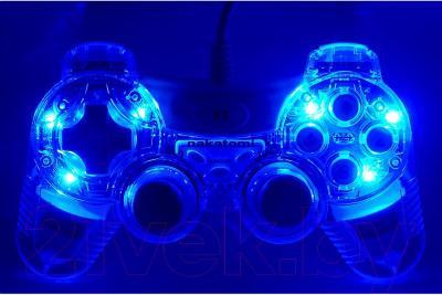 Геймпад Nakatomi GP-F20EL Fighter - вариант подсветки