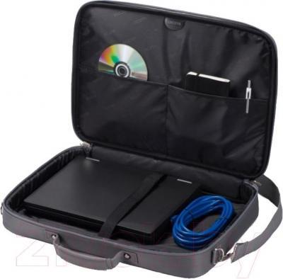 Сумка для ноутбука Dicota D30918 (серый) - в открытом виде