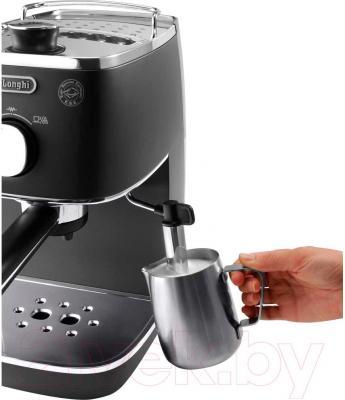 Кофеварка эспрессо DeLonghi ECI341.BK - каппучинатор