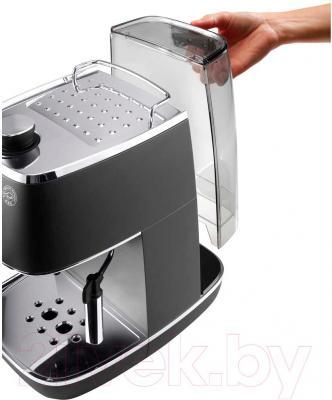Кофеварка эспрессо DeLonghi ECI341.BK - контейнер для воды