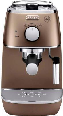 Кофеварка эспрессо DeLonghi ECI341.BZ - вид спереди