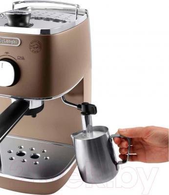 Кофеварка эспрессо DeLonghi ECI341.BZ - каппучинатор