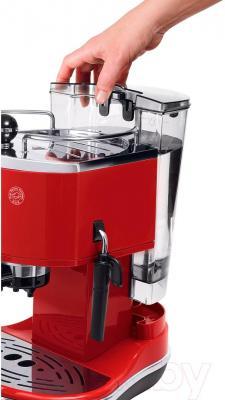 Кофеварка эспрессо DeLonghi ECO311.R - резервуар для воды