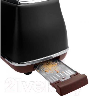 Тостер DeLonghi CTOV 2103.BK - поддон для крошек