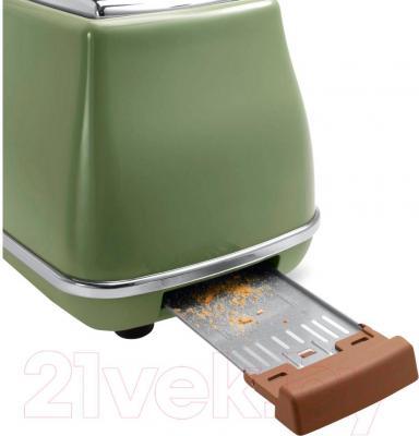 Тостер DeLonghi CTOV 2103.GR - поддон для крошек