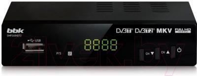Тюнер цифрового телевидения BBK SMP240HDT2 (черный)