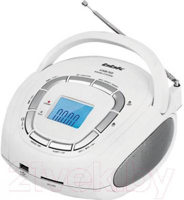 Магнитола BBK BS05 (белый металлик)