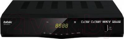 Тюнер цифрового телевидения BBK SMP246HDT2 (черный)