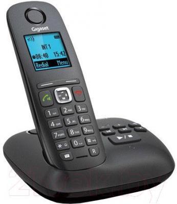 Беспроводной телефон Gigaset A540A (черный) - общий вид