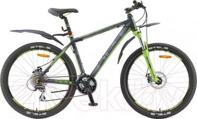 Велосипед Stels Navigator 850 MD (26, темно-серый/черный/зеленый)