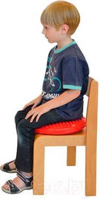 Баланс-платформа Gymnic Disco Sit Junior 89.12 (красный) - применение