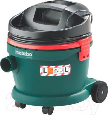 Профессиональный пылесос Metabo AS 20 L