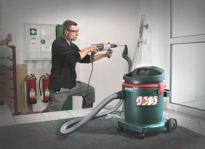 Профессиональный пылесос Metabo AS 20 L - возможности использования