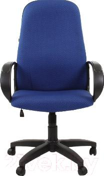 Кресло офисное Chairman 279 (ткань JP, черно-голубой)