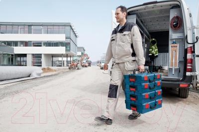 Кейс для инструментов Bosch 102 (1.600.A00.1RP) - в работе