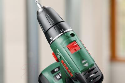 Аккумуляторная дрель-шуруповерт Bosch PSR 1800 Li-2 (0.603.9A3.120) - в работе