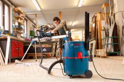 Пылесос Bosch GAS 20 L SFC (0.601.97B.000) - в работе